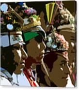 Four Flyer's Canvas Print