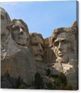 Four Former U S Presidents Canvas Print