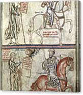 Four Horsemen, 1250 Canvas Print