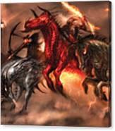 Four Horsemen Canvas Print