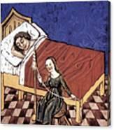 Four Humors: Melancholia Canvas Print