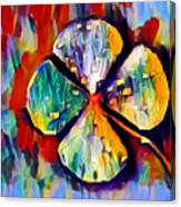 Four Leaf Clover Canvas Print