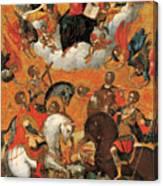 Four Military Saints Canvas Print