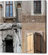 Four Windows Canvas Print