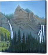 Fourmile Falls And Fall Creek Falls Canvas Print