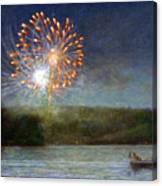 Fourth Of July- Cazenovia Lake Canvas Print