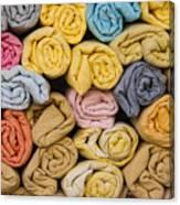 Fouta Towels Canvas Print