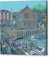 Fowey Cornwall Canvas Print
