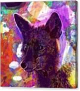 Fox Animal Tuscany  Canvas Print