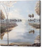 Fox Lake Canvas Print