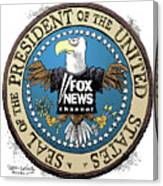 Fox News Presidential Seal Canvas Print