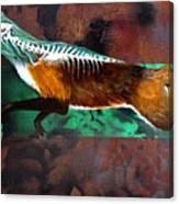 Fox Run Canvas Print