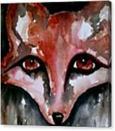 Fox Shadow Magic Canvas Print
