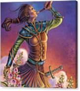 Foxglove - Summon Your Courage Canvas Print