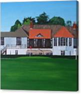 Foxrock Golf Club Canvas Print