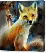 Foxy Baby Canvas Print