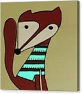 Foxy Moxy Canvas Print
