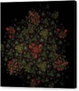 Fractal Christmasbouquet  Canvas Print