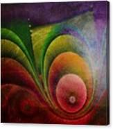 Fractal Design -a4- Canvas Print