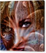 Fractal Eyes Canvas Print