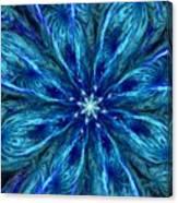 Fractal Flora 062610 Canvas Print