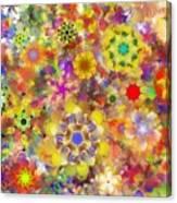 Fractal Floral Study 2 Canvas Print