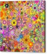 Fractal Floral Study 3 Canvas Print