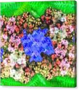 Fractal Flower Garden Canvas Print