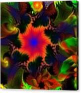 Fractal Garden 15 Canvas Print