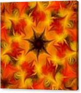 Fractal Garden 6 Canvas Print
