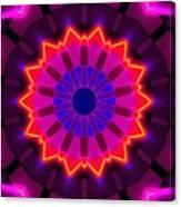 Fractal Lights Canvas Print