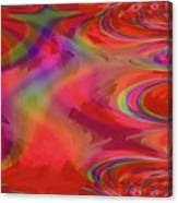 Fractal Red Canvas Print
