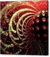 Fractal Solar Flare Canvas Print