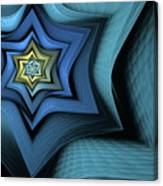 Fractal Star Canvas Print