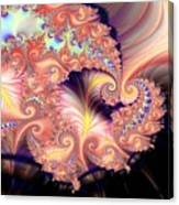 Fractal Star Canvas Print