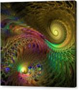 Fractal Swirls Canvas Print