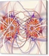 Fractal Synapse Canvas Print