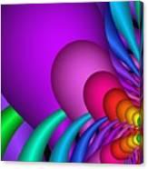 Fractalized Colors -1- Canvas Print