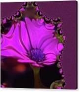 Fractual Flower  Canvas Print