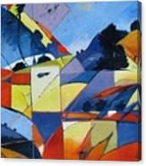 Fractured Landscape Canvas Print