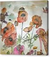 Fragrance  Of Garden Album Canvas Print