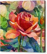 Fragrant Roses Canvas Print