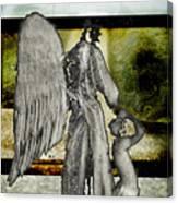 Framed Angel Canvas Print