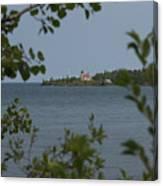 Framed Lighthouse Canvas Print