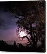Framed Moon Canvas Print
