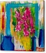 Framing Petals Canvas Print