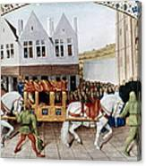 France: Charles Iv Canvas Print