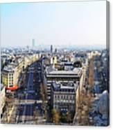 France Montmartre Paris Canvas Print