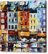 France New Original Canvas Print