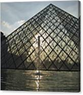 France, Paris The Louvre Museum Canvas Print